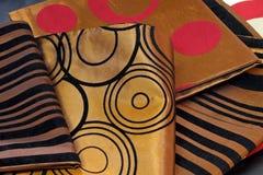 Golden silk Royalty Free Stock Photos