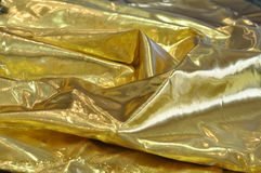 Golden silk cloth Royalty Free Stock Images