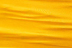 Golden silk cloth Stock Photos