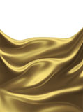 Golden silk Stock Photos