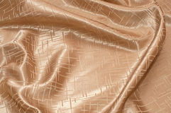 Golden silk Stock Photography