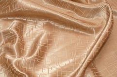 Golden silk Stock Photography