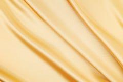 Golden silk Stock Photos