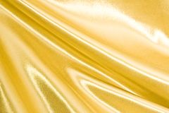Golden silk Stock Photo