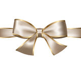 Golden and Silver Bow Stock Images