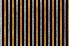 Golden and silver striped background. Royalty Free Stock Photo