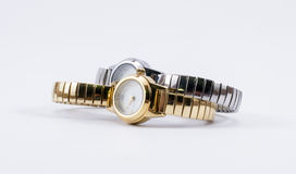 Golden and Silver watches Royalty Free Stock Images