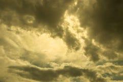 Golden sky Stock Images