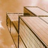 Golden Skyscraper Stock Images