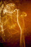Golden smoke Royalty Free Stock Photos