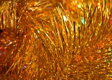 Golden soft abstract background Stock Photo