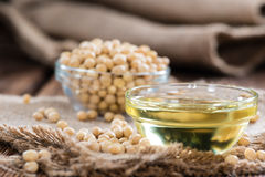 Golden Soy Oil Royalty Free Stock Photos