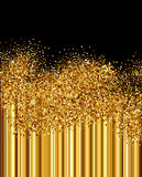 Golden sparkles background Royalty Free Stock Photos