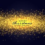 Golden sparkles glitter abstract background for christmas festiv. Al illustration royalty free illustration