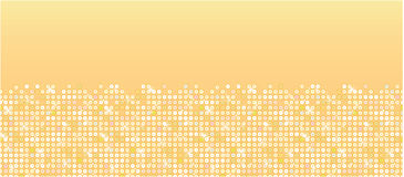 Golden sparkles horizontal seamless pattern Stock Image