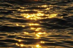 Golden Sparkles Royalty Free Stock Photos