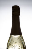 Golden sparkling wine Royalty Free Stock Photo