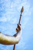 Golden spear Stock Images