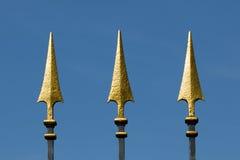 Golden spear Stock Photo