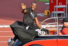 Golden Spike 2011, Usain Bolt, 2011 Stock Photo