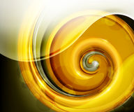 Golden spiral Stock Photos