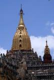 Golden spires Royalty Free Stock Photos