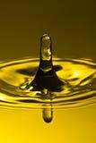 Golden splash Stock Image