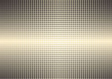 Golden spotted shining background Stock Image