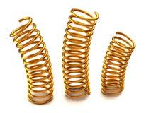 Golden springs Stock Image