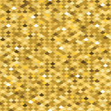Golden squama seamless pattern. Vector illustration Royalty Free Stock Photography