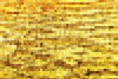 Golden square block texture Royalty Free Stock Image