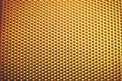 Golden square block texture Royalty Free Stock Photography