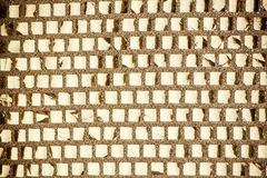 Golden squares background Stock Photography