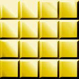 Golden squeres Royalty Free Stock Images