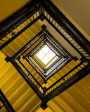 Golden staircase Royalty Free Stock Photo