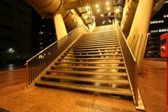 Golden Stairway Stock Photography