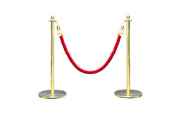 Golden Stanchion Royalty Free Stock Photos