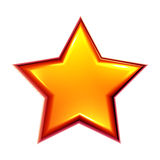 Golden star Stock Photography