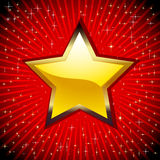 Golden Star. Stock Image