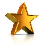 Golden star Stock Photos