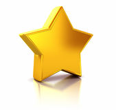 Golden star Stock Images