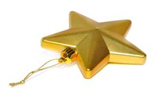 Golden star Stock Photos