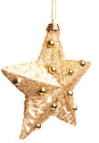 Golden star Stock Image