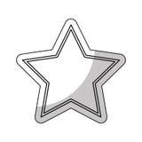 Golden star award icon Stock Photo