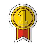 Golden star award icon Royalty Free Stock Photography