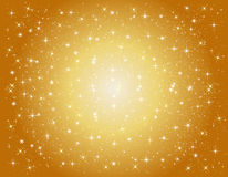 Golden star background Royalty Free Stock Photos