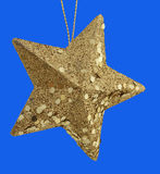 Golden star - isolated Stock Photo