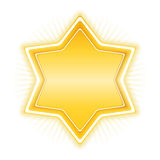 Golden Star Royalty Free Stock Images