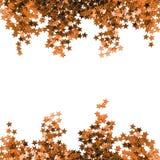 Golden stardust isolated Stock Photos
