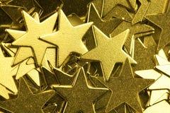 Golden stars. Stock Photography